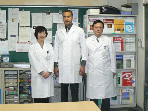 Dr. Omondi Nyong'oの訪問
