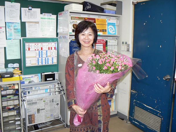 佐藤美保先生、お誕生日おめでとうございます。