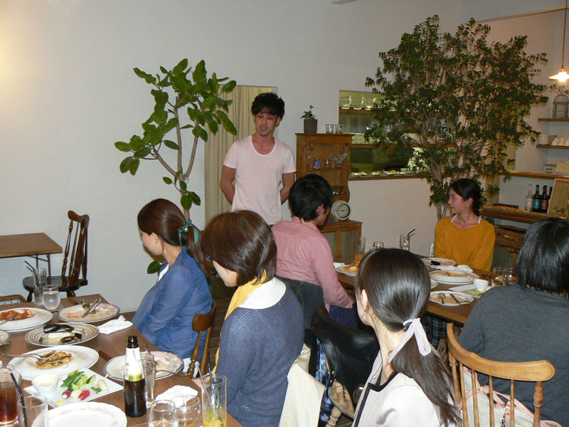 松岡貴大先生の歓迎会