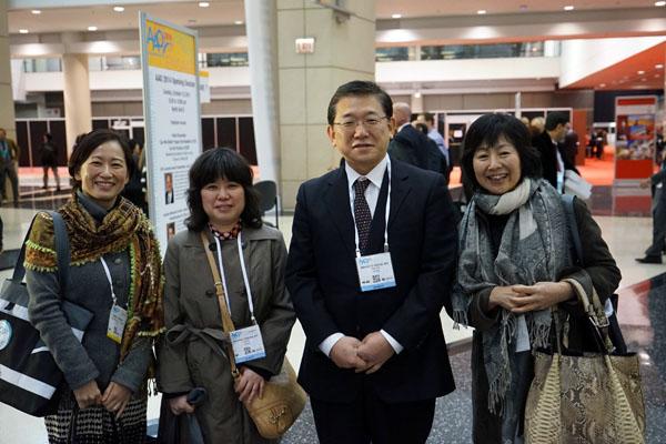 ChicagoでAAOが開催され、佐藤美保先生が参加しました
