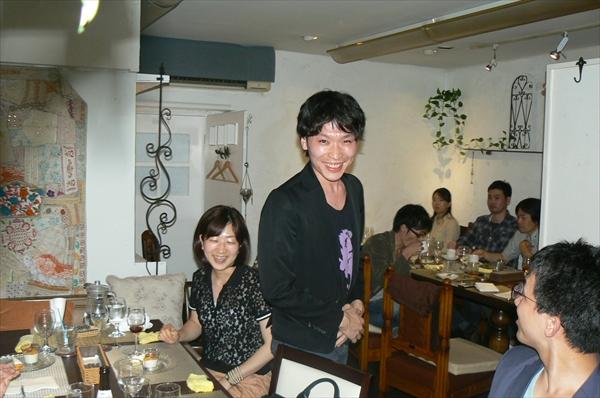 上田将弘先生の挨拶