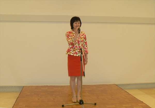 佐藤美保臨床教授の中締めの挨拶