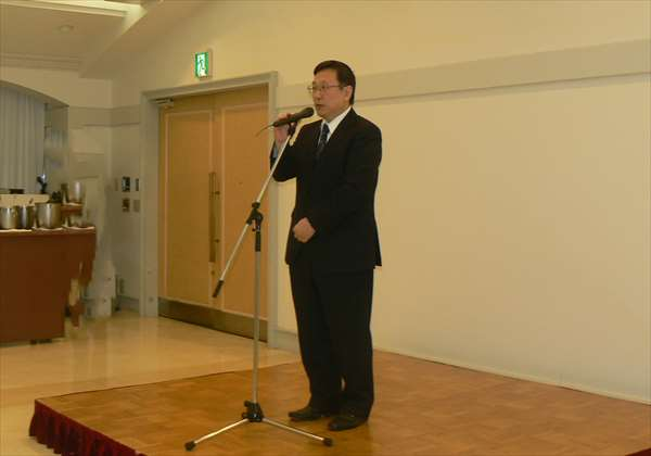 堀田教授の挨拶
