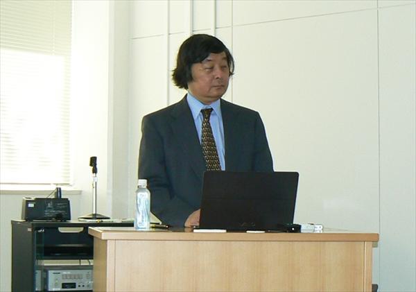 東範行先生の講義