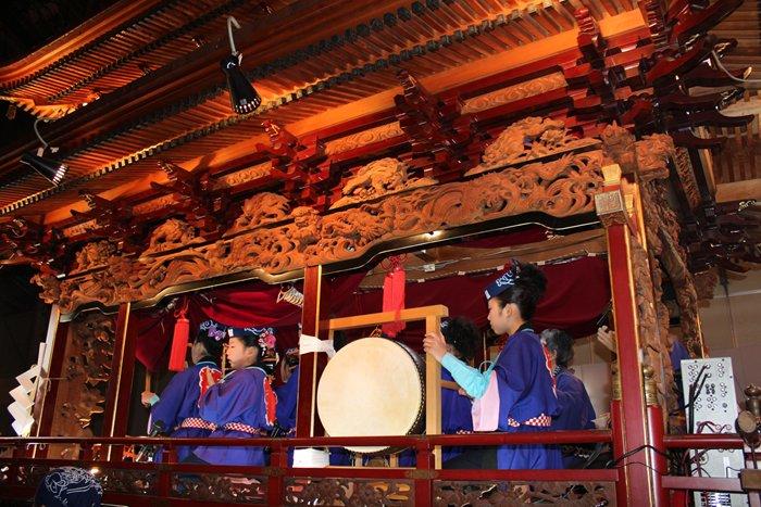 御殿屋台(浜松祭り)