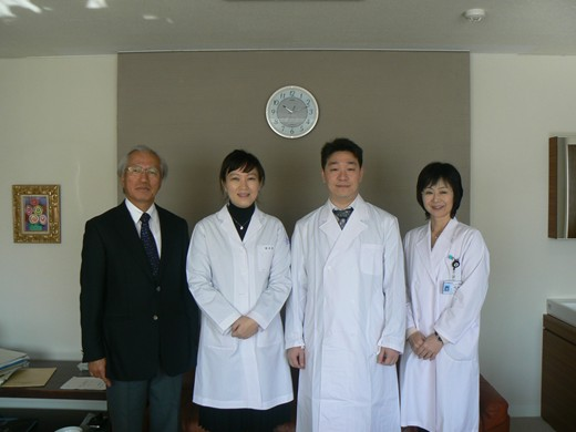韓国釜山のKosin University HospitalのDr. Seung-uk Lee と、 Maryknoll Medical CenterのDr. Su Jin Kim