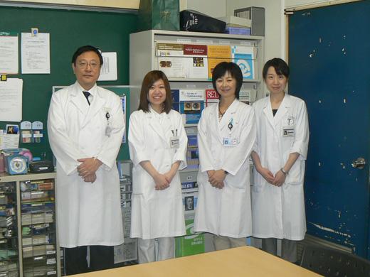 西川典子先生、伊藤はる奈先生(旭川医科大学)