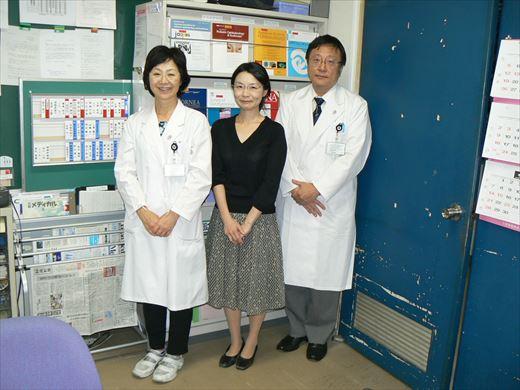 2014年9月11日 柿原寛子先生が訪問されました。